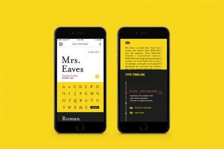 4 criterios que debes conocer para elegir la tipografía de tu app