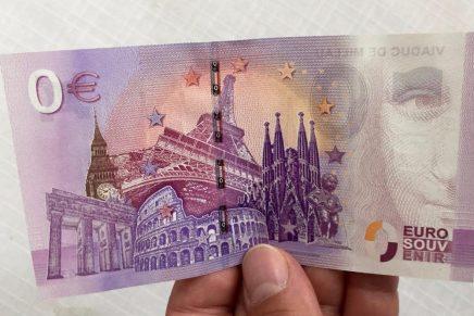 Alemania crea los billetes de cero euros