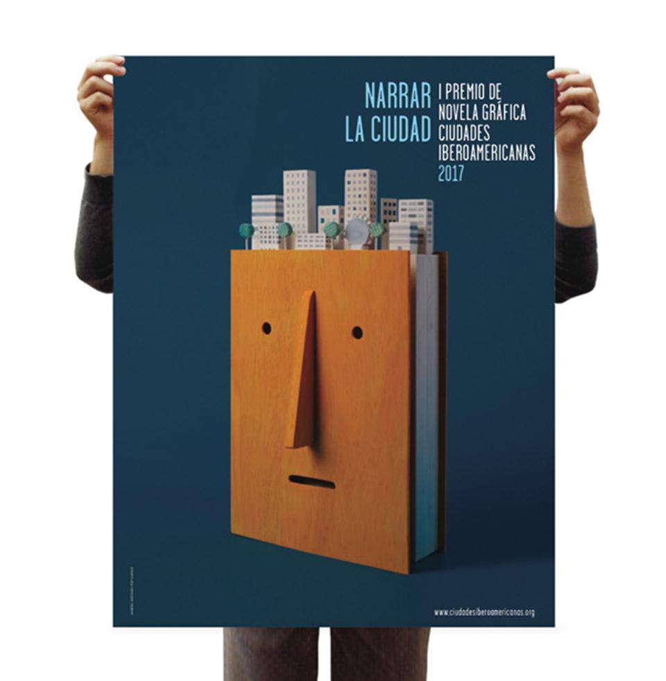 El estudio Pep Carrió ilustra 'Narrar la ciudad', el primer concurso de novela gráfica de las ciudades iberoamericanas