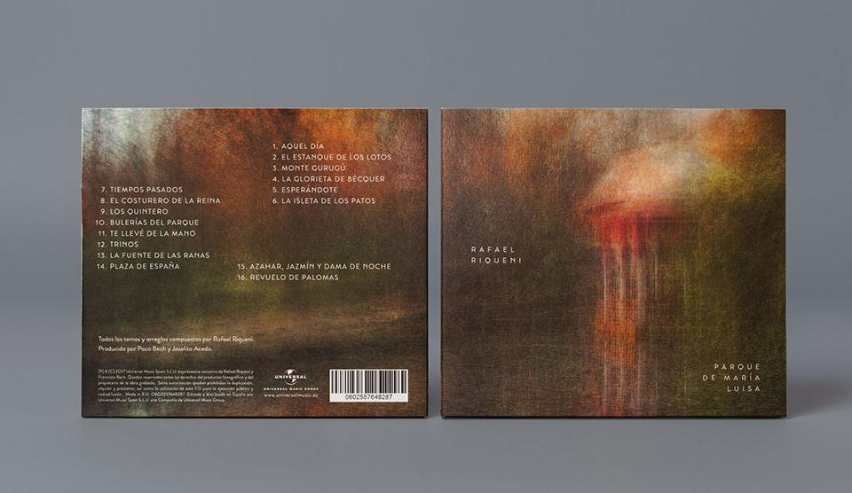 La portada y el libreto del nuevo disco de Riqueni ha estado a cargo de Atipo
