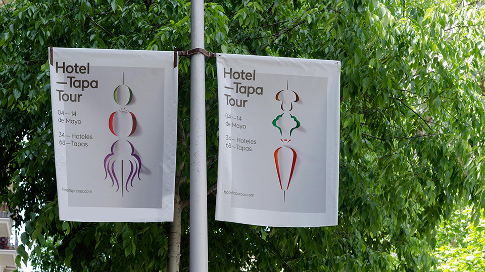 Comunicación 360º para acercar la imagen de Hotel Tapa Tour
