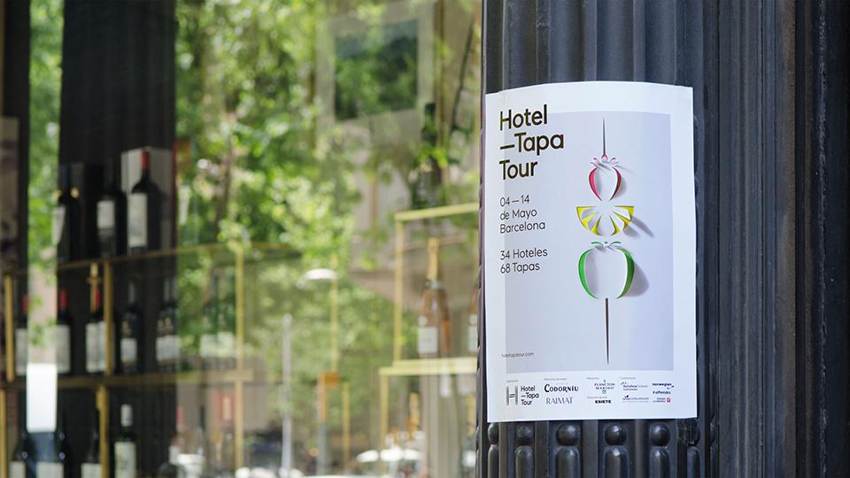 Cartelería de Hotel Tapa Tour