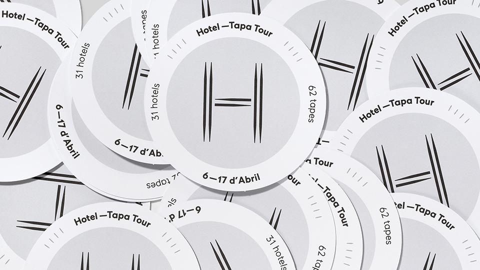 Identidad visual de Hotel Tapa Tour