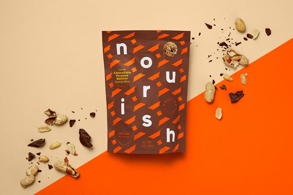 Romper los estigmas sobre la comida sana era el reto al que se enfrenta el nuevo packaging de Nourish Snacks