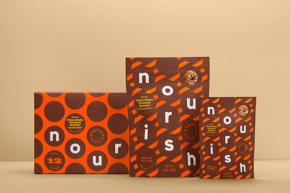 Rediseño del packaging de Npurish Snacks