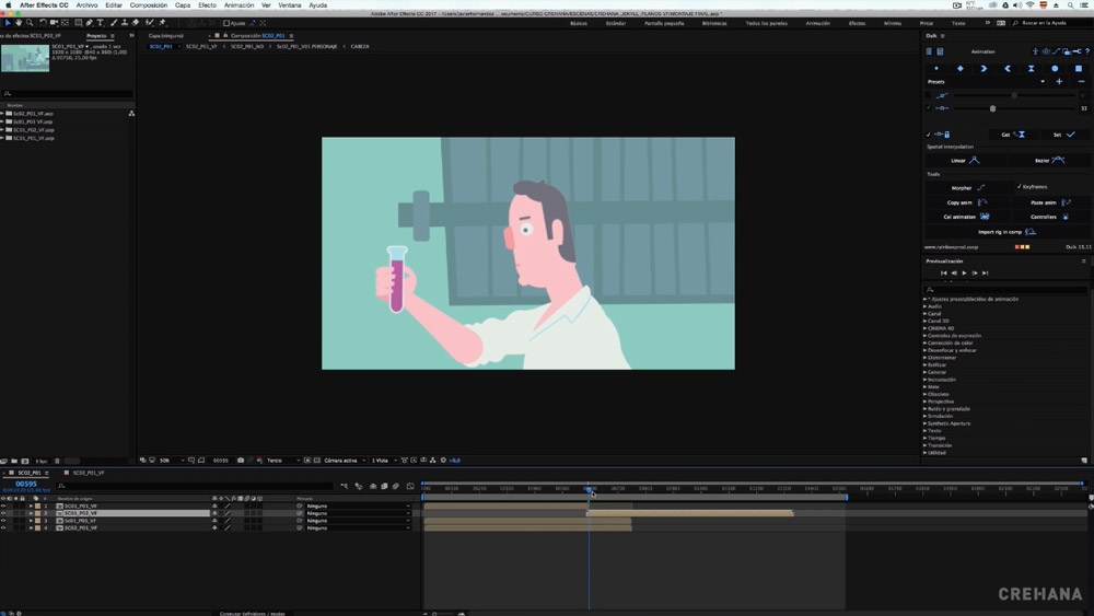 Animación y Motion Graphics en After Effects: Crea tu propia pieza de cine