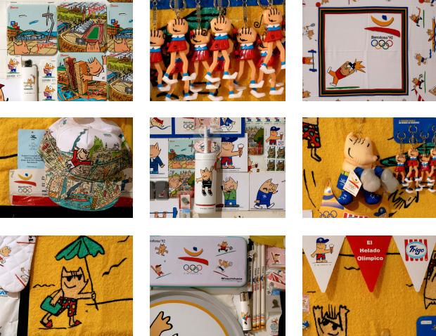El merchandising de los Juegos Olímpicos 1992 - 3