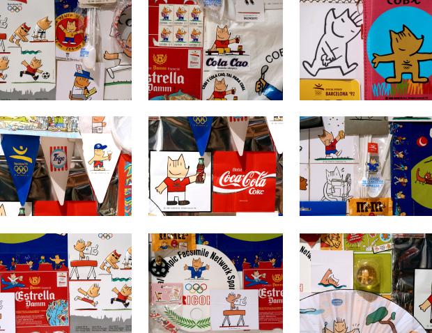 El merchandising de los Juegos Olímpicos 1992 - 2