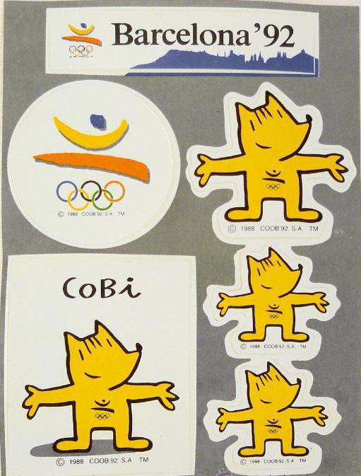 El Merchandising De Los Juegos Olimpicos Barcelona 1992