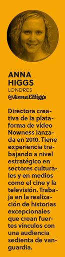 Anna Higgs de Nowness: «Las marcas deben encontrar maneras de crear emoción» - bio