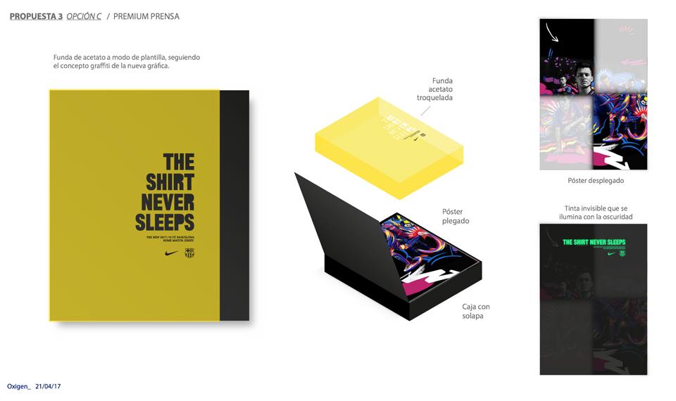 ¿Quién diseña el packaging de las camisetas oficiales del Barça? - bocetos 4