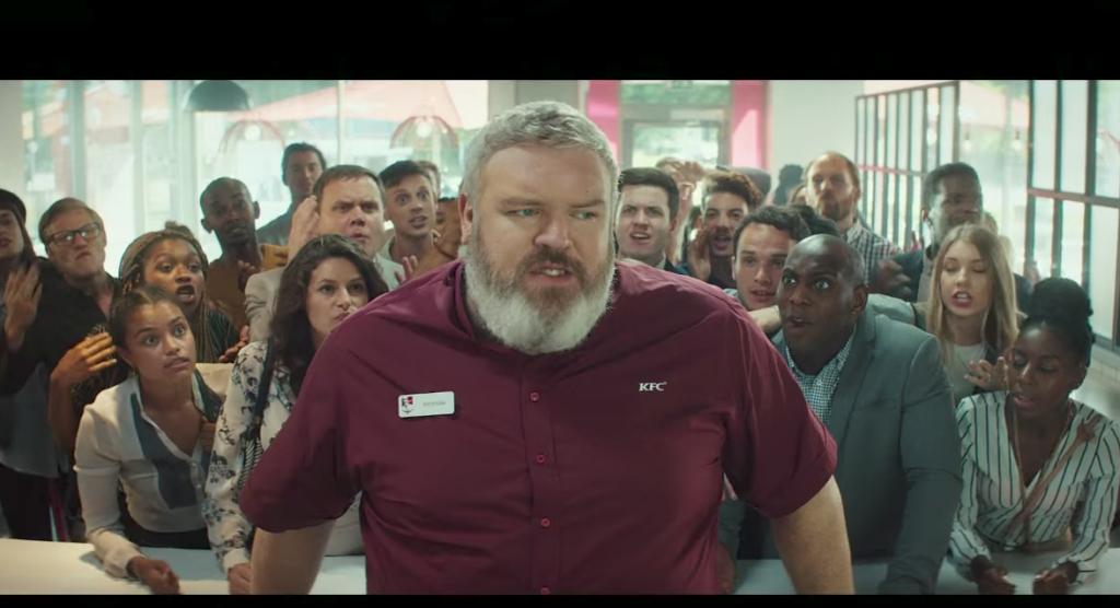 KFC parodia a Juego de Tronos en el lanzamiento de su último producto