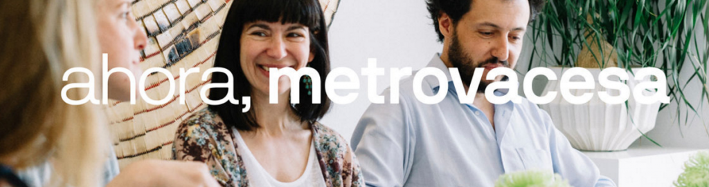 """""""Ahora"""" es el lema de la campaña de Metrovacesa"""