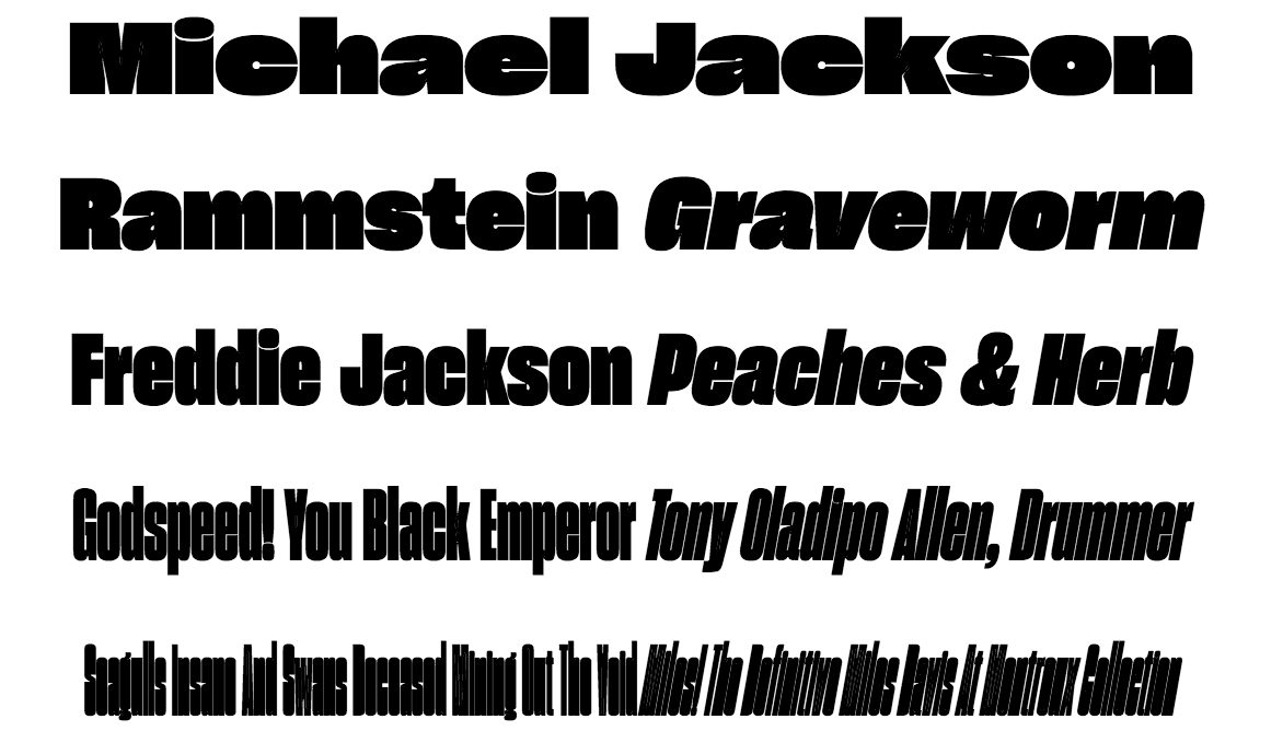 TDC Typeface Design 2017