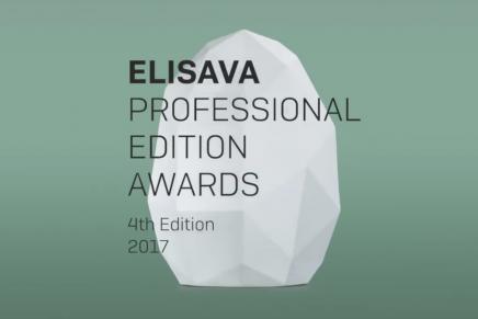 Desvelados los ganadores de los Elisava Professional Edition Awards 2017