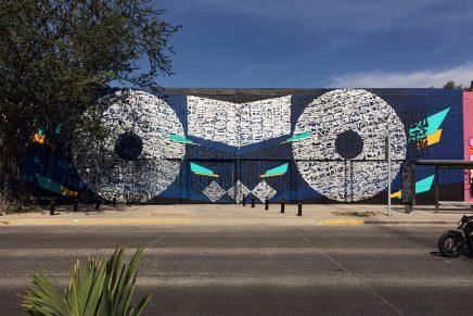 Chalchihuite, la última pieza mural del artista urbano Said Dokins