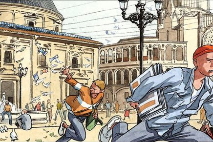 El MuVIM destapa la relación entre el cómic y la ciudad en la muestra 'València en vinyetes'