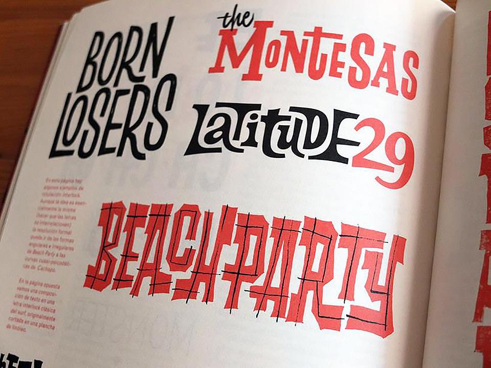 Cómo aprender lettering. El ABC del lettering.Una guía para el dibujo de la letra, por Iván Castro - 1