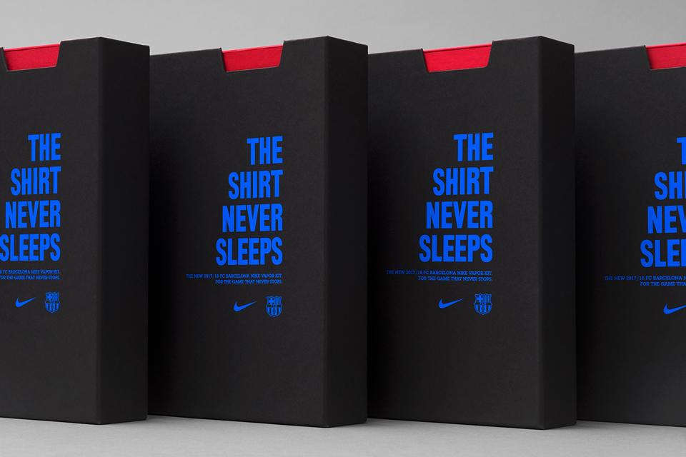 ¿Quién diseña el packaging de las camisetas del Barça?