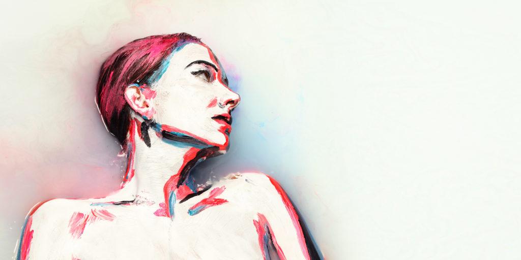 La técnica de la pintura de Alexa Meade
