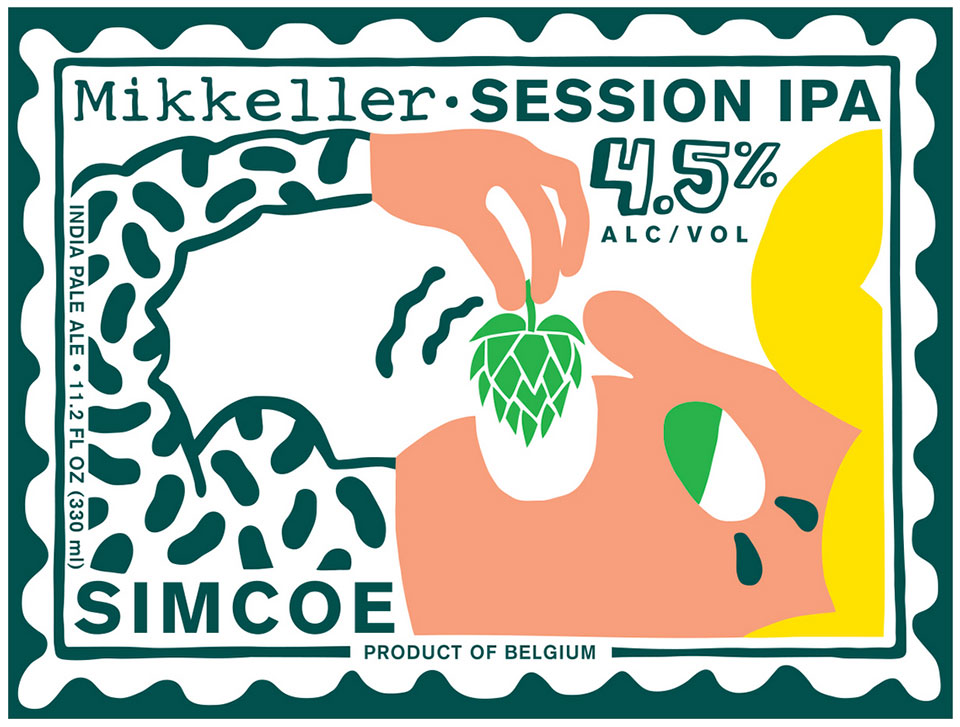 packaging cervezas comiendo Mikkeller 1