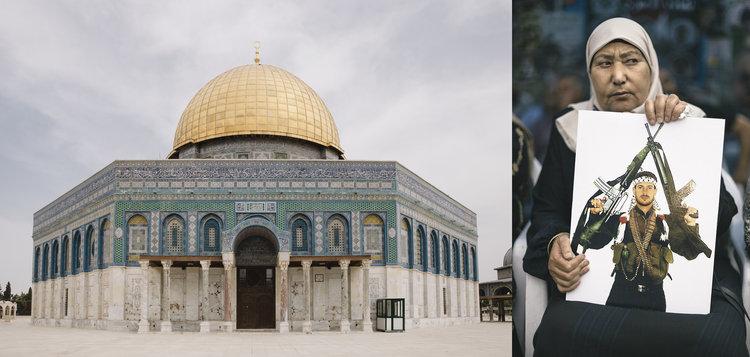 Palestina es el último destino que ha pasado por el objetivo de Pedro J. Saavedra