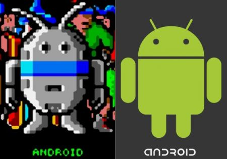quién diseñó a Andy, el logo de Android