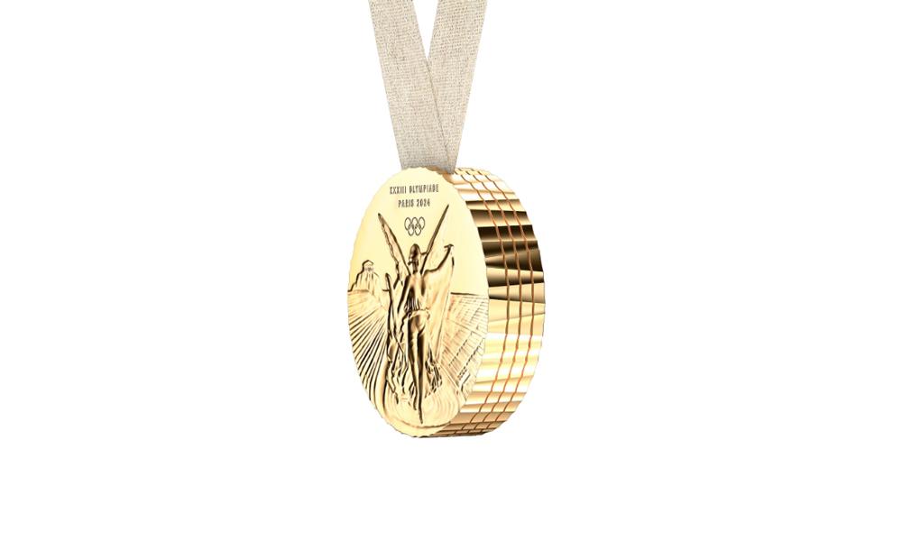 medalla olímpica Juegos Olímpicos 2024 diseñada por Philippe Starck