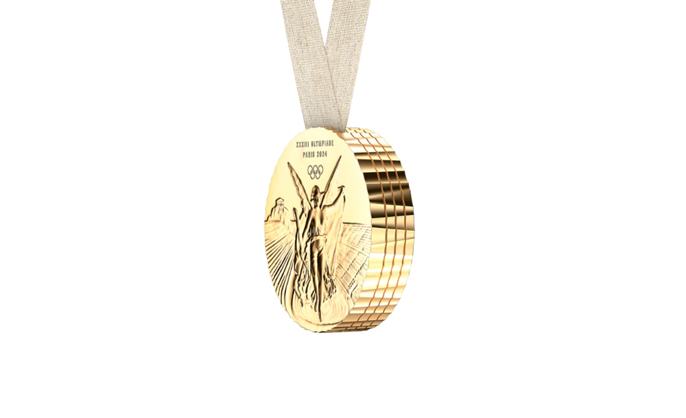 medalla olímpica 2024 diseñada por Philippe Starck