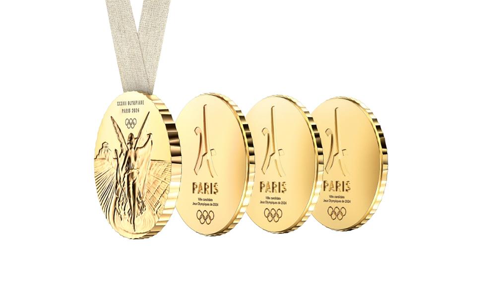 Philippe Starck diseña la Medalla Olímpica para los Juegos Olímpicos 2024 París