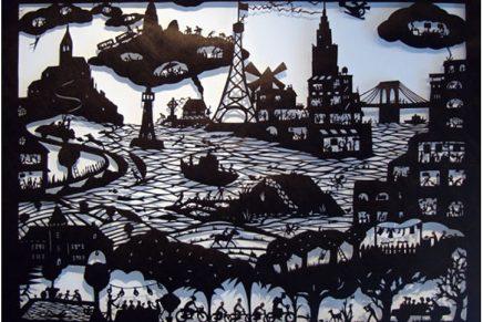Descubre las obras que Béatrice Coron hace con papel