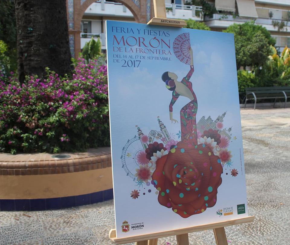 Cartel anunciador Fiestas Morón de la Frontera