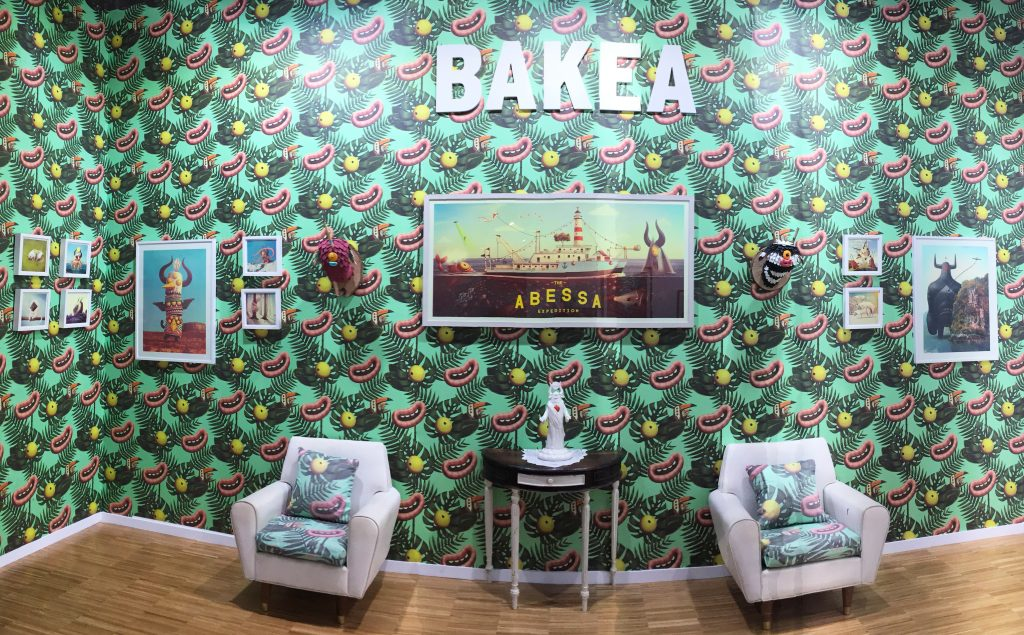 La peculiar y cósmica visión de Bakea pone la imagen al Santander Music 2017 - exposición Bakea