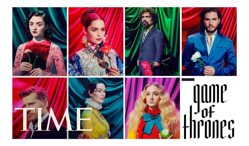 Los protagonistas de Juego de Tronos aparecen en la portada de TIME