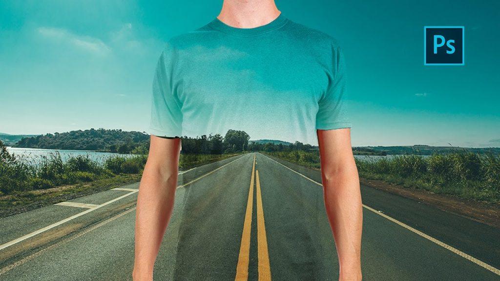 Efecto camiseta transparente Phtoshop