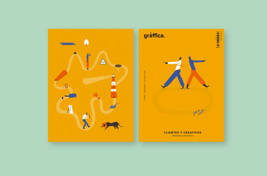 ¿Cómo se hizo la portada de la revista número 6 de Gràffica? Hablamos con Laura Liedo