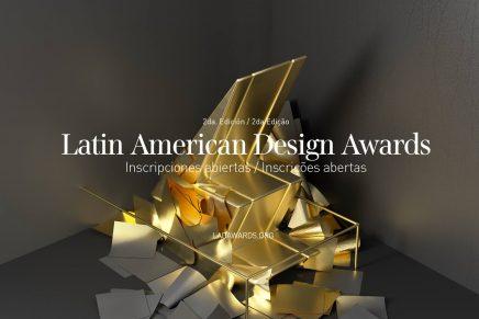 Abierta la inscripción para participar en Latin American Design Awards 2017