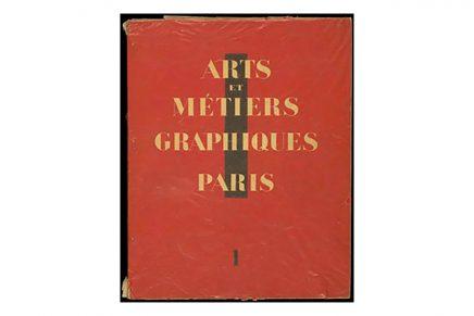 Arts et Métiers Graphiques. La revista francesa de la modernidad visual (1927-1939)