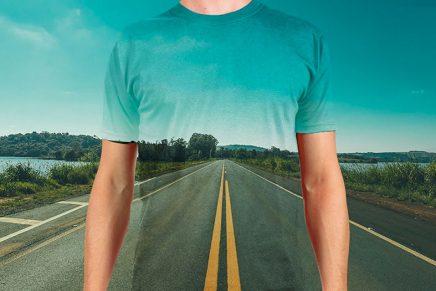 El efecto de la camiseta transparente con Photoshop que te hará triunfar en las redes