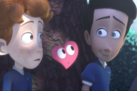 «In a Heartbeat», el cortometraje de animación que muestra el amor entre dos niños