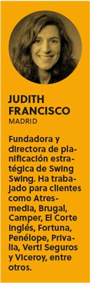 Las ideas están sobrevaloradas, por Judith Francisco - bio