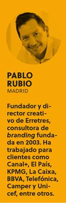 «Creo que los diseñadores tenemos mucha culpa de que las relaciones no sean todo lo deseables que deberían ser», Pablo Rubio - BIO