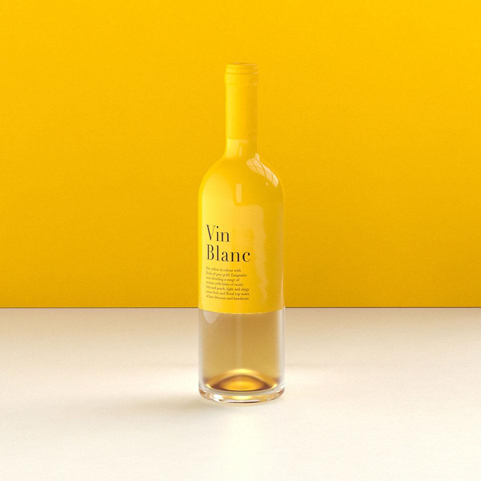 Packaging Vino Blanco 1