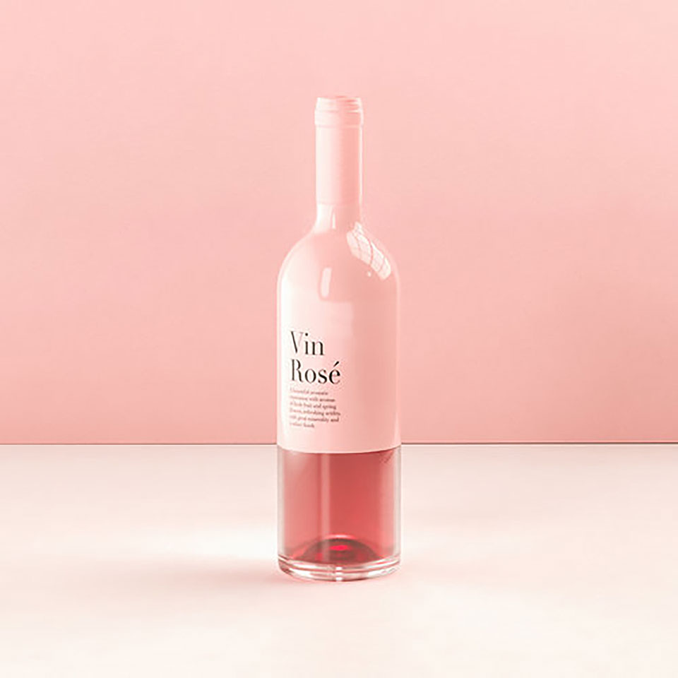 packaging vino rosa 1