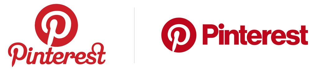 Logo pinterest antes y después