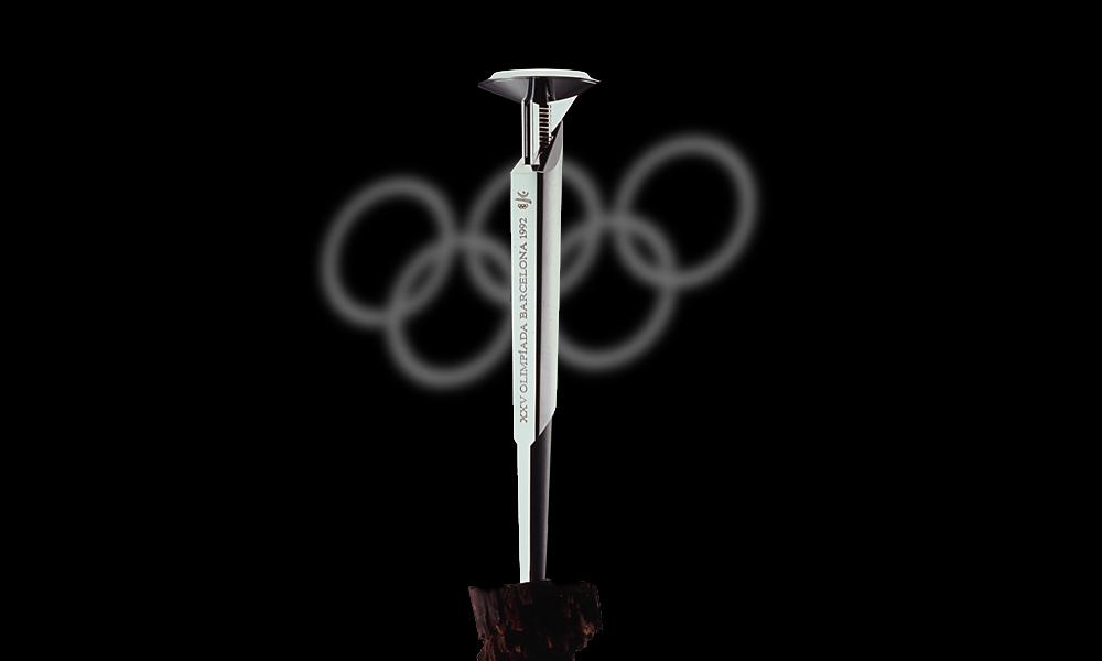 André Ricard y su actividad para la promoción y reconocimiento del diseño - antorcha_olimpica_1992
