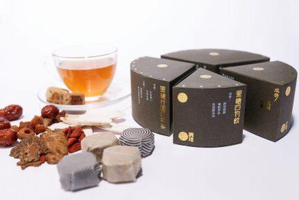 Fina Li Shuk Yan diseña este packaging de té basándose en la femineidad