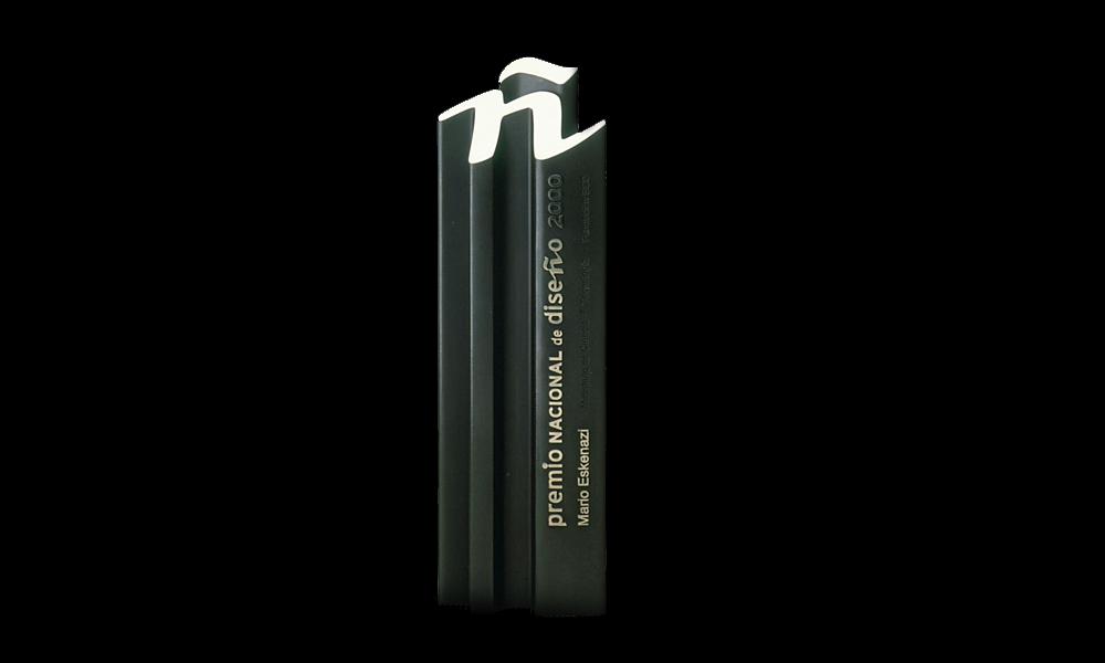 André Ricard y su actividad para la promoción y reconocimiento del diseño - premio_nacional_diseno_2001
