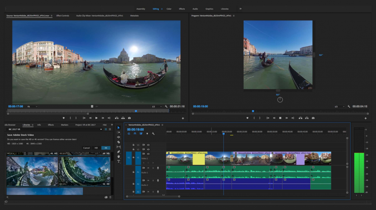 novedades de Adobe en realidad virtual, animación y motion graphics