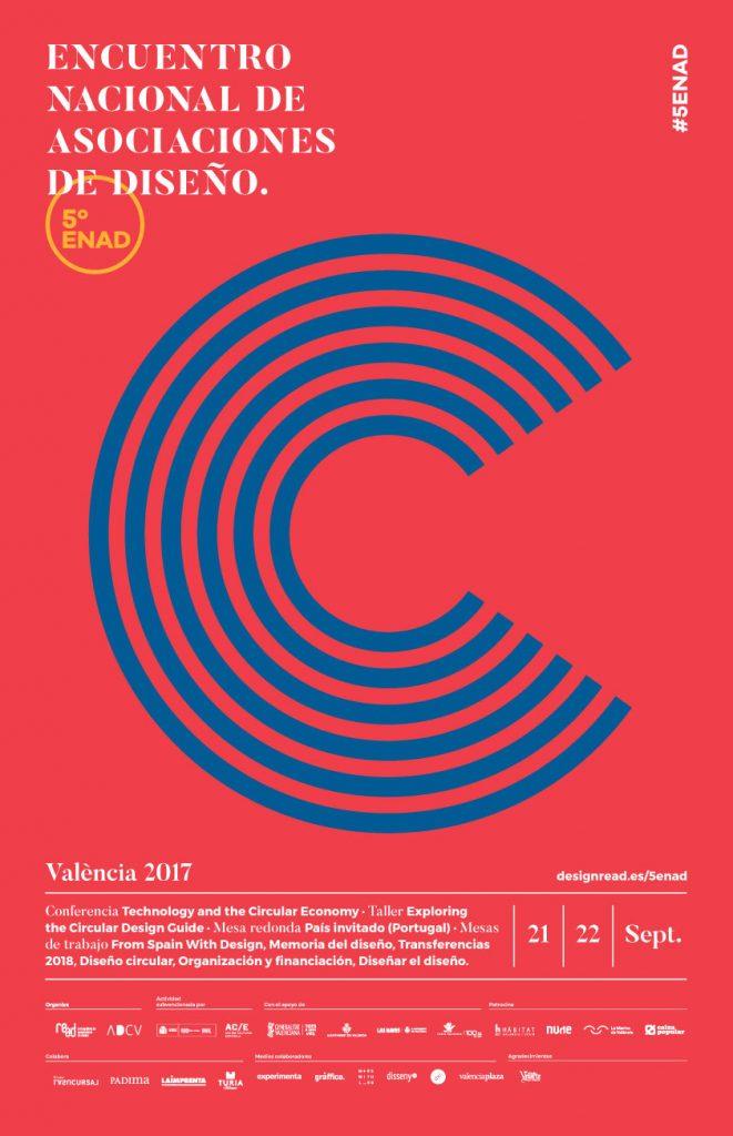 EL 5º Encuentro Nacional de Diseño se celebrará en Valencia